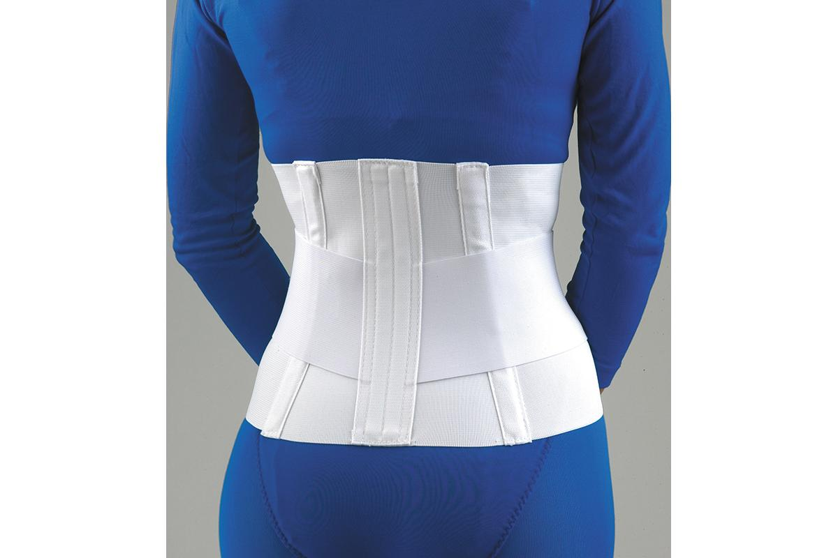 Lumbar Sacral Support with Abdominal Belt - back