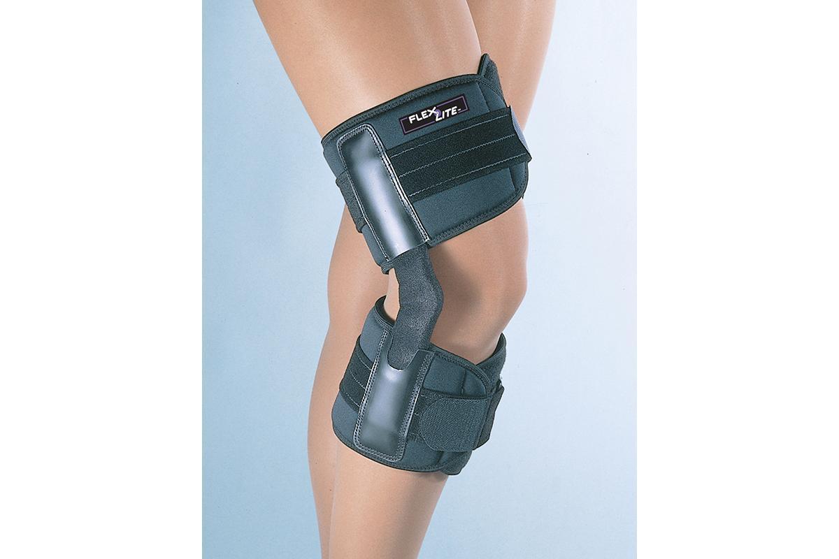 Flex Lite Hinged Knee Support - Black