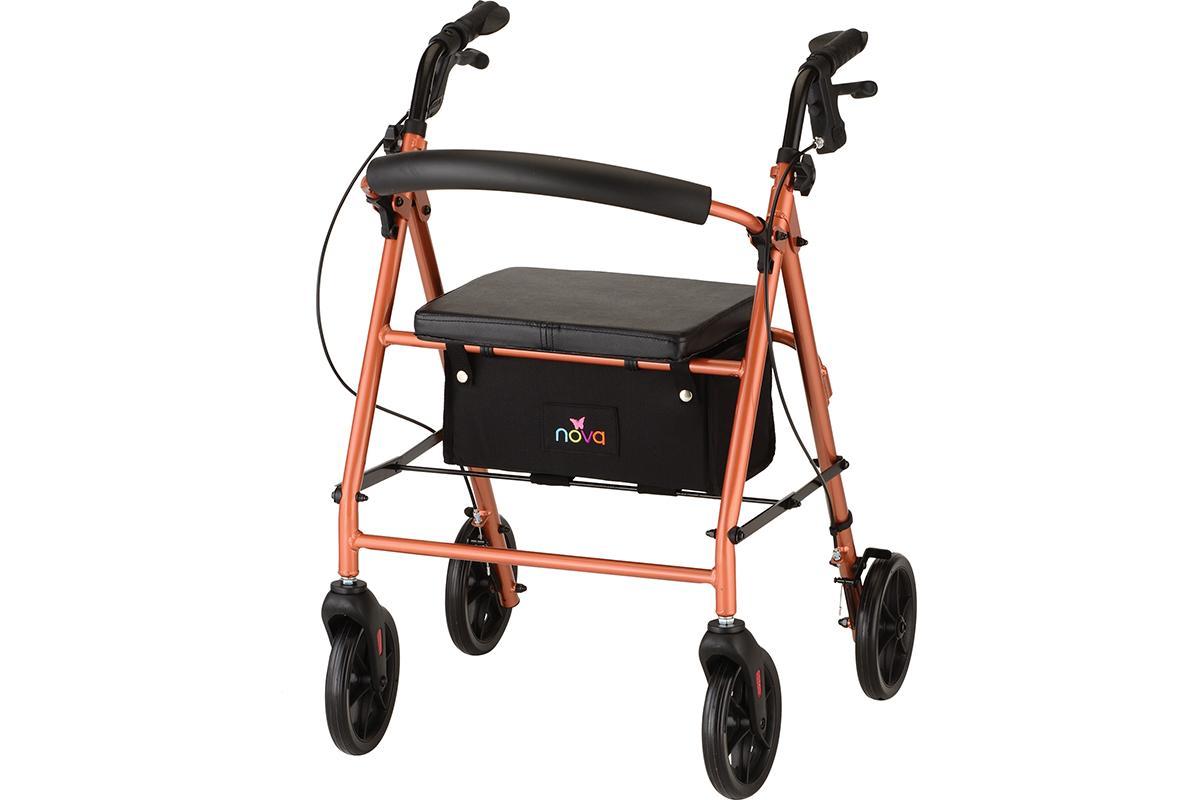 Vibe 8 Rolling Walker - Orange