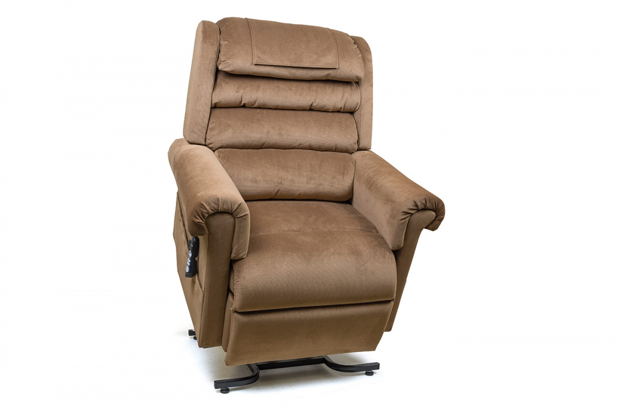 PR756 MaxiComfort Relaxer Lift Chair Medium in Copper Color