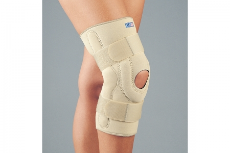 Professional Grade Neoprene Stabilizing Knee Brace with hinges