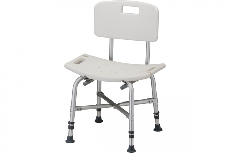 Bariatric Heavy Duty Bath Seat with Back
