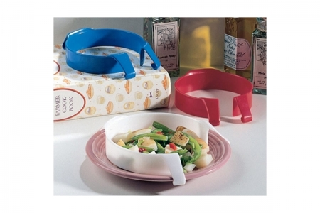 Performance Health, Plate Guard, Reusable Plastic Food Plate Guard
